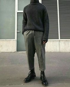 fashion style for men Look Fashion, Mens Fashion, Fashion Outfits, Stylish Mens Outfits, Cool Outfits, Look Man, Inspiration Mode, Dr. Martens, Aesthetic Clothes