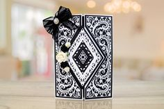 The Paisley Parade Collection features brand new shaped interlocking dies that offer more multi-use and more intricate detailing to create an extremely versatile die Art Deco Cards, Tattered Lace Cards, Lace Painting, 3d Craft, Shaped Cards, Easel Cards, Die Cut Cards, Lace Flowers, Lace Design