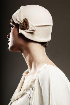 Vintage 1930's Wedding Hat- made to order. $375.00, via Etsy.