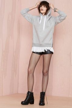 UNIF Stray Sweatshirt | Shop What's New at Nasty Gal  #streetstyle