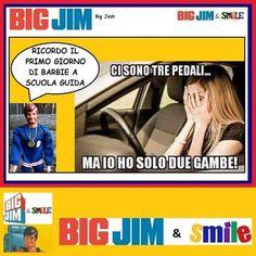 Big Jim & Smile: Barbie a Scuola Guida - Big Josh Big Jim, Bastilla, Funny Video Memes, Buffalo Bills, Funny Things, Barbie, Smile, Humor, Instagram