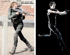 Tris Prior in Divergent & Insurgent