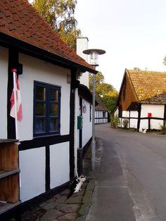 Gudhjem, Danmark Garage Doors, Outdoor Decor, Home Decor, Denmark, Homemade Home Decor, Decoration Home, Interior Decorating