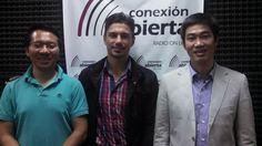 El Cónsul de Embajada de Vietman en Argentina nos visitó en nuestro semanario de actualidad internacional en radio, Sr. Xuan Le y Chung Nguyeng.