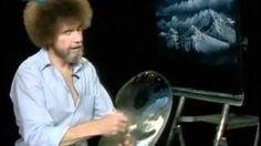 Bob Ross: Christmas Eve Snow, via YouTube.