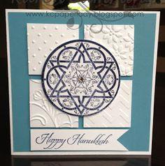 PaperLady: 12 Days of Christmas - Day 11 Happy Hanukkah Card