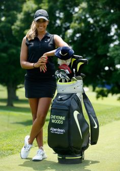 Cheyenne Woods. Picture: Getty