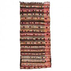 Moroccan Flat Weave Wool Rug- 5 11 x12 6