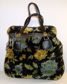Vintage 1960s Mary Poppins steampunk carpetbag by ForeverSexy