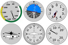 Printable! File:BasicFlight instruments turn problem 2b.svg