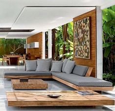 Stunning Stylish Outdoor Living Room Ideas To Expand Your Living Space With differents living room ideas you will be motivated to make subtle upgrades to your own room or check out vibrant modern living room style ideas that will captivate guests. Small Living Room Furniture, Outdoor Living Rooms, Living Room Modern, Modern Furniture, Modern Outdoor Living, Luxury Living Rooms, Furniture Ideas, Rooms Furniture, Outdoor Furniture Design