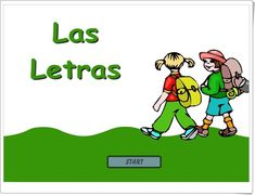 """""""Las letras"""" (Aplicación con tarjetas audiovisuales del Abecedario)"""
