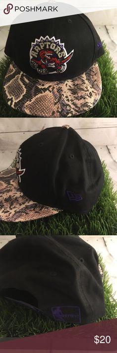 New Era HWC Toronto Raptors SnapBack **Snake Skin* **Snake Skin** Good Condition New Era Accessories Hats