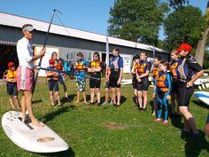 Kurs windsurfingu zaczyna się od teorii. #windsurfing #sport #wakacje #lato2015