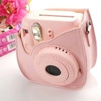 New instax Mini 8 Case, to protect your Mini 8 without being scraped ! This camera case is lovely an