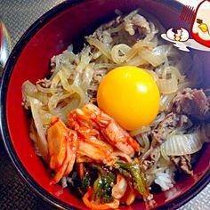試合一週間前〜やからプチダイエット❓❓かな… - 11件のもぐもぐ - お肉少なめ牛丼どーん by yudetamago1121