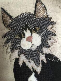 Wool applique pattern Furnando | Etsy