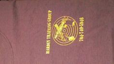 Hardin Training Group, firearms training shirt front