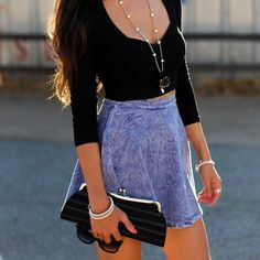 dont like the accessories but the skirt is banging
