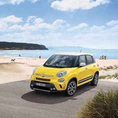 Rodzinny wyjazd? Fiat 500L będzie najlepszym towarzyszem dla Was i dla Waszych dzieci. #Fiat #Fiat500L