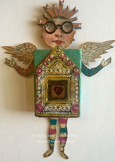 Matchbook Art by MJ Chadbourne/Desert Dream Studios More