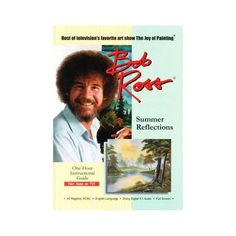 Bob Ross the Joy of Painting: Summer Reflections (DVD) Images Of Summer, Bob Ross Paintings, The Joy Of Painting, Summer Landscape, Create Image, See On Tv, Reflection, Blog, Products