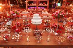 Mesa de dulces para bodas vintage / Vintage wedding candy bar #Wedding #Boda #Hacienda #Yucatán