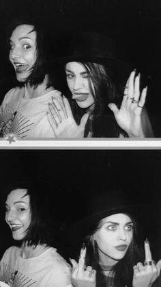 Frances Bean Cobain & L. Way