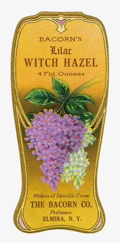 Sisters' Warehouse: Vintage Perfume Labels - Etichette Vintage di Prof...