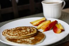 Banana protein pancakes by Fork you-No fork you!!