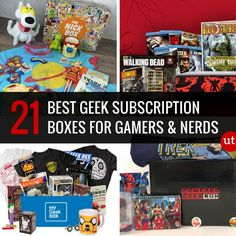 Best Geek Subscription Boxes for Gamers and Nerds