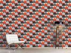 Design #Tapete Patchwork Metropolen