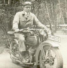 brand new Harley-Davidson VL twin Germany 1930  tumblr the original stuff