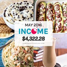 A detailed report of Homemade Hooplah's income for May 2016 (21st month of blogging).
