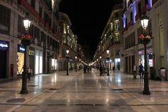 Rue Larios à Malaga