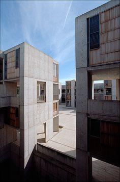 Salk Institute for Biological Studies. La Jolla, California. Louis Kahn. 1962