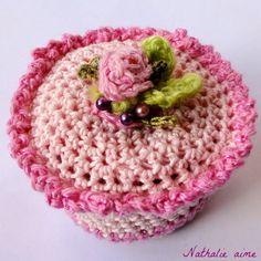 gâteau au crochet SC 157