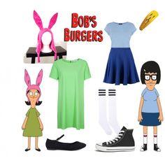 Bobs burgers , Tina and Louise