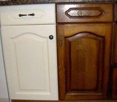 Como pintar metal para que parezca madera paso a paso for Como pintar puertas placas nuevas