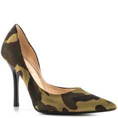 Carrie 2 - Green Multi Satin Guess Shoes $69.99