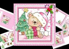 7x7 Christmas for the little ones girl mini kit on Craftsuprint - View Now!