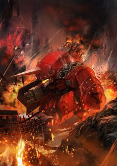 """Warjack Devastator"" by Bagus Hutomo (p0p5) 