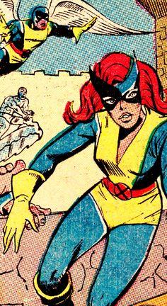 COMIC BOOK CLOSE UP M A R V E L G I R L X-Men #30 (March 1967)Jack Spiraling & John Tartaglione