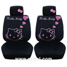 Cute Hello Kitty Seat Covers!