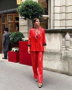 Red Leather, Leather Jacket, My Favorite Color, Jackets, Zara, Style, Fashion, European Fashion, Fall Winter