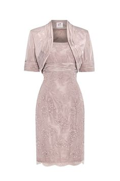 Mother of the bride dress ideas: Anoushka G Dress: Bethany in blush