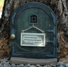 fairy garden doors FOR OUTSIDE - Google Search