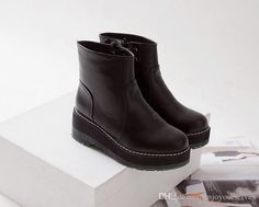 $40 New European And American Fashion Round Toe Wedges Ankle Boots For Women Woman Ladies Winter Sexy Short Naked Boots A510 From Enjoyourselves, $38.88 | Dhgate.Com