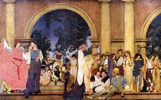 maxfield parrish - Google Search