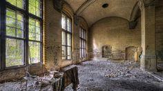 Beelitz - opuszczony szpital Hitlera